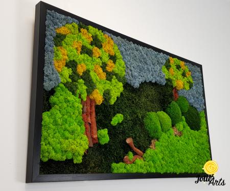 Model Copacei: licheni, muschi si elemente naturale stabilizate [4]
