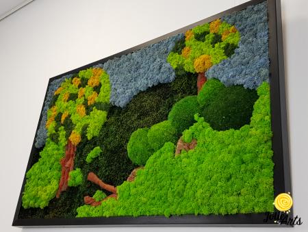 Model Copacei: licheni, muschi si elemente naturale stabilizate [5]