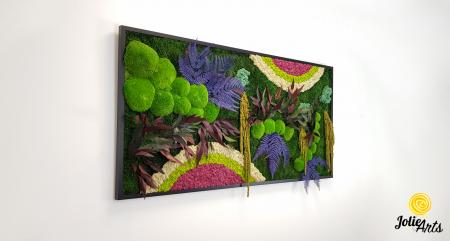 Curcubeu insertii Cyclamen, dimensiune 80 x 160 cm, Jolie Arts, www.tablouriculicheni.ro-2 [3]