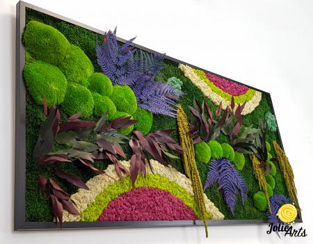 Curcubeu insertii Cyclamen, dimensiune 80 x 160 cm, Jolie Arts, www.tablouriculicheni.ro-2 [4]