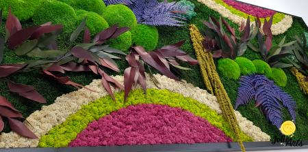 Curcubeu insertii Cyclamen, dimensiune 80 x 160 cm, Jolie Arts, www.tablouriculicheni.ro-2 [5]