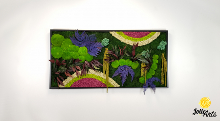 Curcubeu insertii Cyclamen, dimensiune 80 x 160 cm, Jolie Arts, www.tablouriculicheni.ro-2 [2]