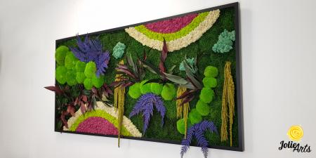Curcubeu insertii Cyclamen, dimensiune 80 x 160 cm, Jolie Arts, www.tablouriculicheni.ro-2 [1]