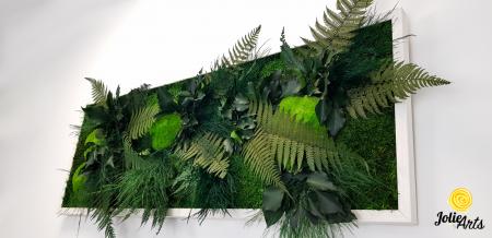 Tablou muschi si plante naturale stabilizate, Model Exotic, Jolie Arts, www.tablouriculicheni.ro-6 [3]