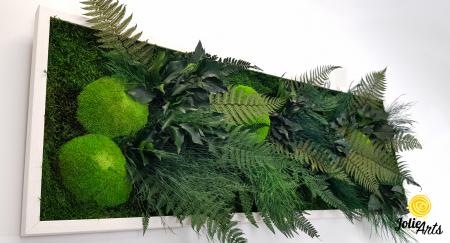 Tablou muschi si plante naturale stabilizate, Model Exotic, Jolie Arts, www.tablouriculicheni.ro-6 [5]