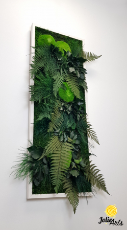 Tablou muschi si plante naturale stabilizate, Model Exotic, Jolie Arts, www.tablouriculicheni.ro-6 [0]
