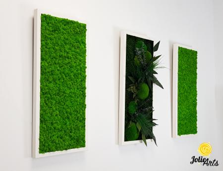 Model Green Day, set 3 tablouri dimensiune 30 x 70 cm [1]