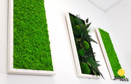 Model Green Day, set 3 tablouri dimensiune 30 x 70 cm [2]