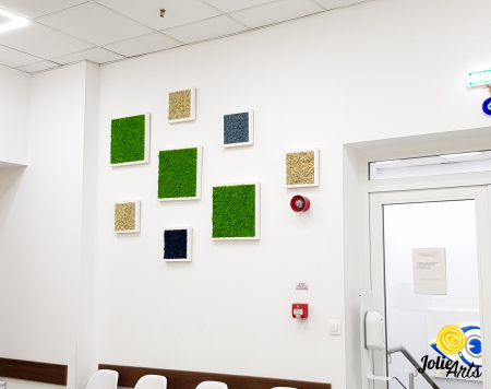 Set 8 tablouri decorate cu licheni naturali stabilizati [2]