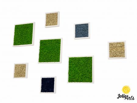 Set 8 tablouri decorate cu licheni naturali stabilizati [0]