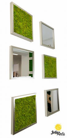 Set tablouri cu licheni Spring Green / Oglinzi [0]