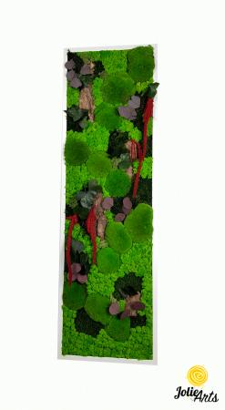 Tablou licheni, muschi, plante naturale stabilizate Jolie Arts [0]