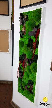 Tablou licheni, muschi, plante naturale stabilizate Jolie Arts [2]