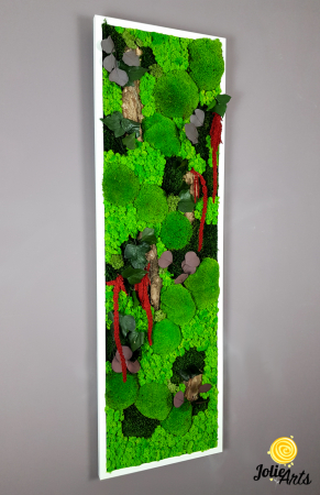 Tablou licheni, muschi, plante naturale stabilizate Jolie Arts [5]