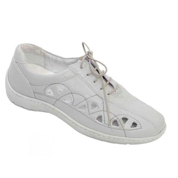 Pantofi din piele Medline Confort 441 Gri 0
