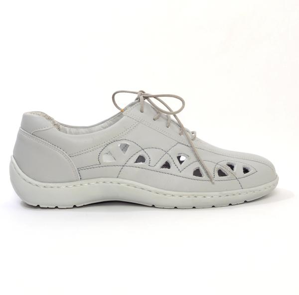 Pantofi din piele Medline Confort 441 Gri 1