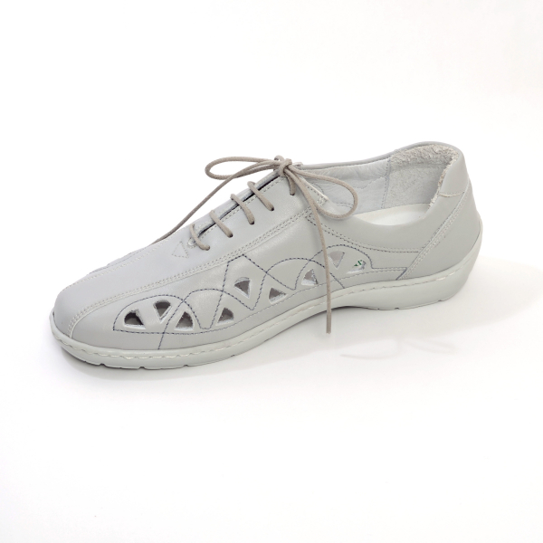 Pantofi din piele Medline Confort 441 Gri 2