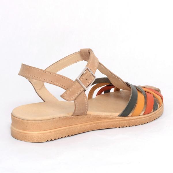 Sandale din piele naturala 258 Color Vara 3
