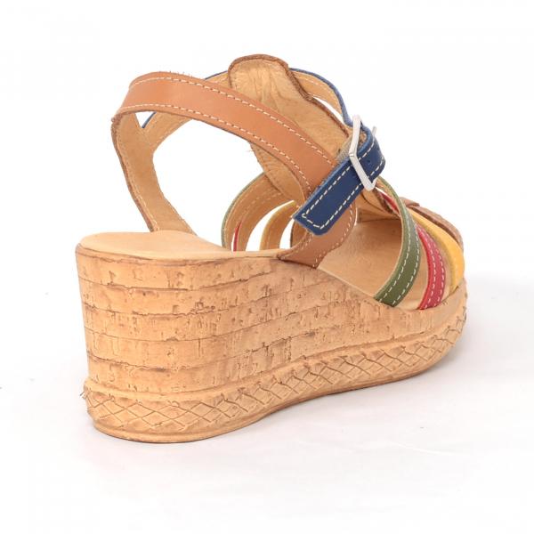 Sandale din piele naturala 262 Color Vara 2
