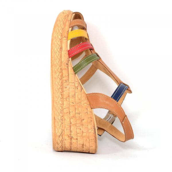 Sandale din piele naturala 262 Color Vara 4