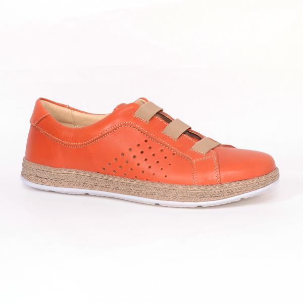 Pantofi casual dama 546 Portocaliu 0