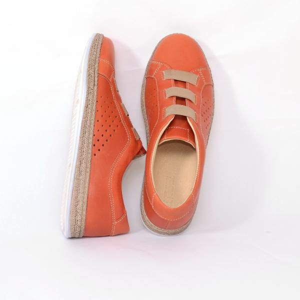 Pantofi casual dama 546 Portocaliu 2