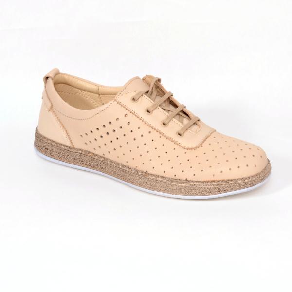 Pantofi casual dama 459 Bej 0