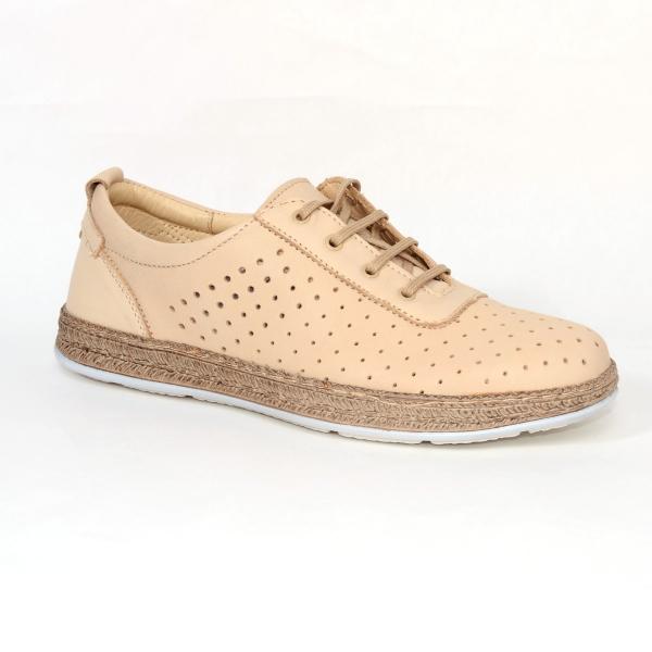 Pantofi casual dama 459 Bej 1