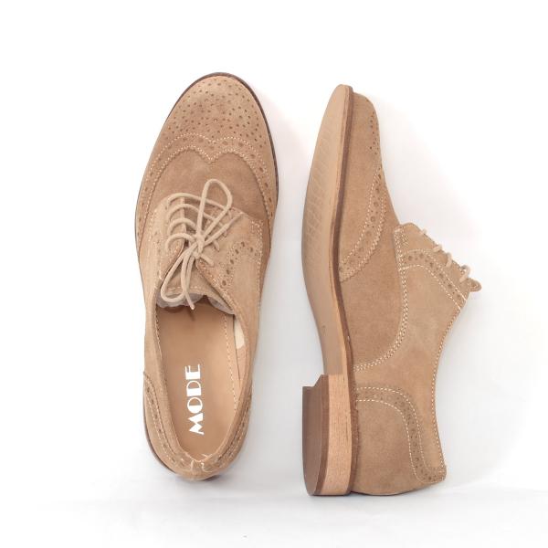 Pantofi casual dama, Medline, 3881 Bej 3