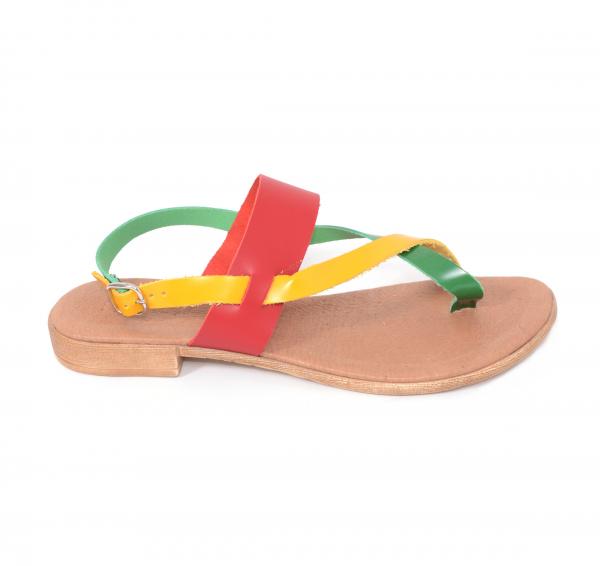 Sandale din piele naturala 211 Color 1