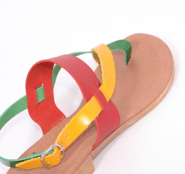 Sandale din piele naturala 211 Color 2