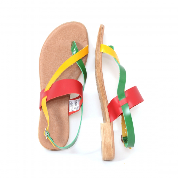 Sandale din piele naturala 211 Color 3