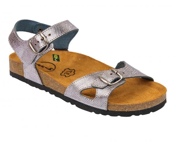 Sandale Medi+ Ena 33 Lizard Argentum 0