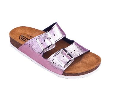 Papuci Medi+ Ena 32 Lizard Pink 0