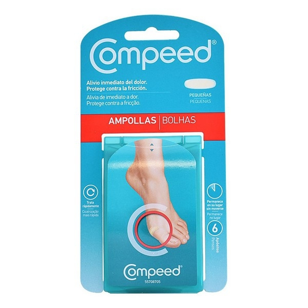 Anti-Basici pentru picioare 6 buc. Compeed 0