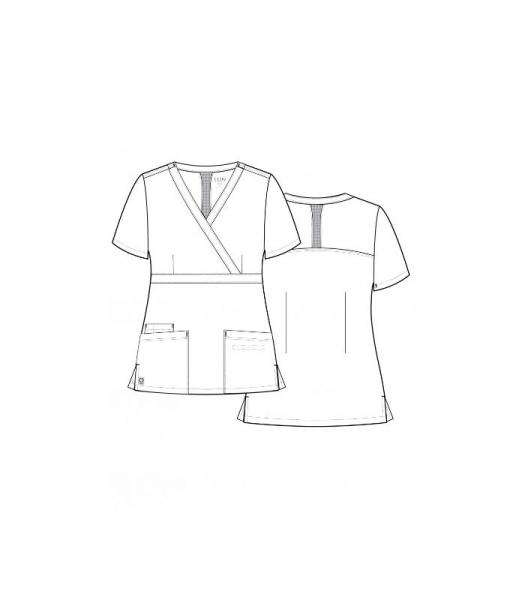 Bluza femei MAEVN Alb 2