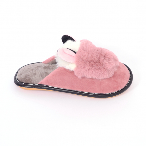 Papuci de casa Roz pudra [0]