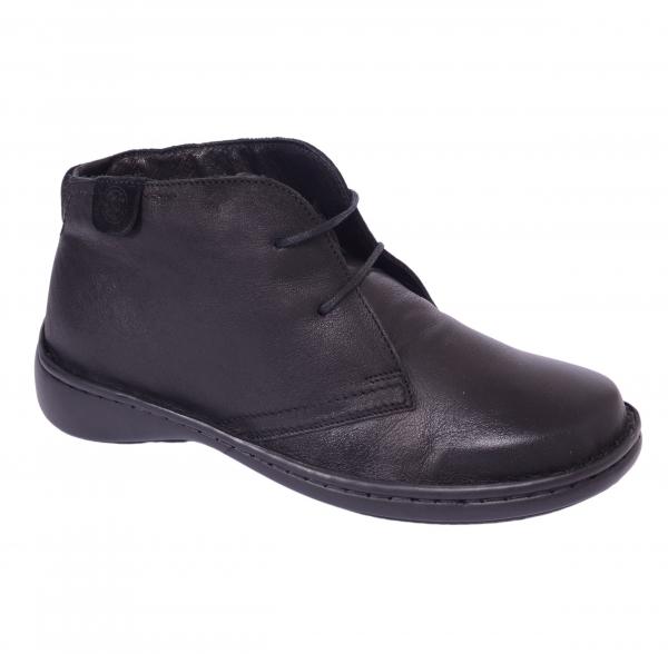 Pantofi piele Medline Confort 478 Negru 0