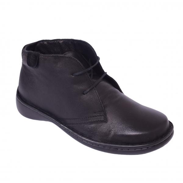 Pantofi piele Medline Confort 478 Negru 2