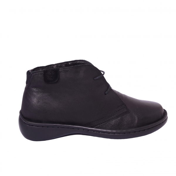 Pantofi piele Medline Confort 478 Negru 3