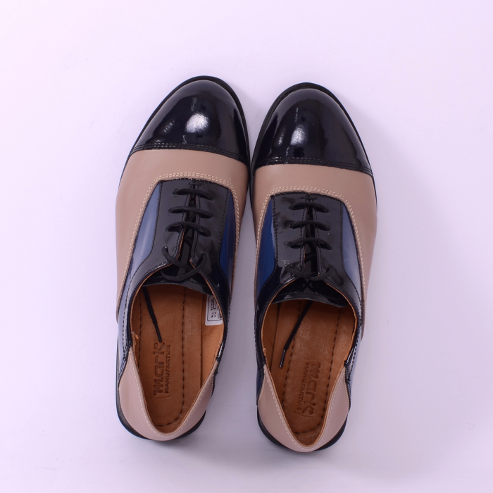 Pantofi casual dama 597 Color Bej [2]