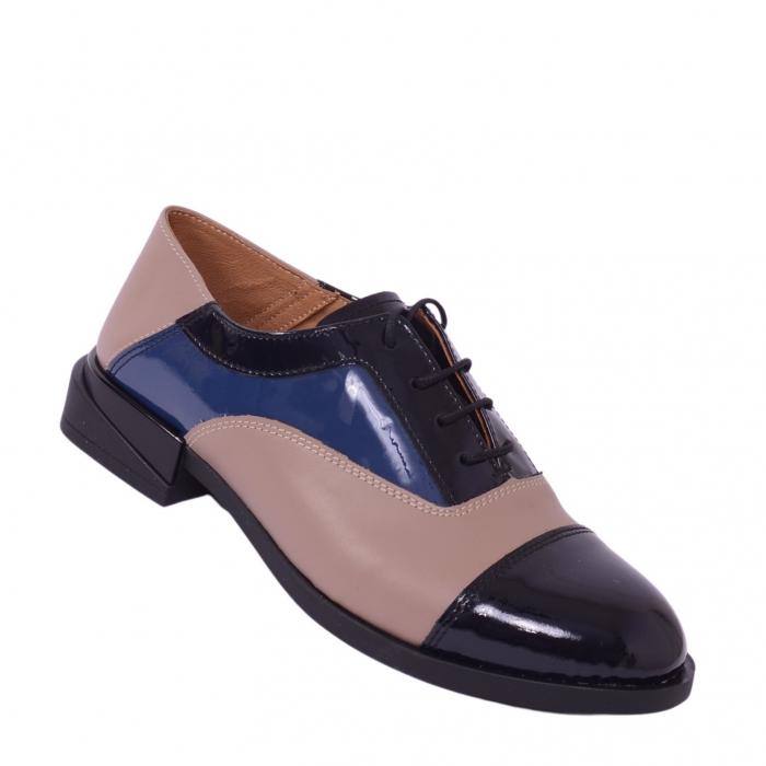 Pantofi casual dama 597 Color Bej [0]
