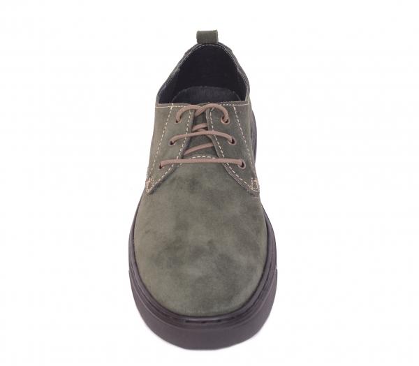 Pantofi casual dama 434XB Kaki 1