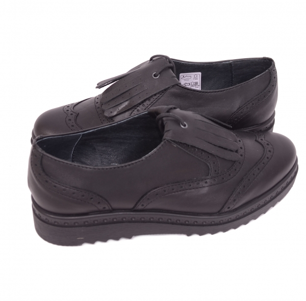 Pantofi casual dama 487 Negru 3