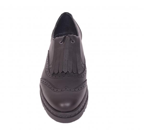 Pantofi casual dama 487 Negru 1