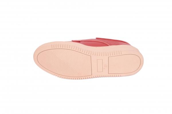 Pantofi piele naturala Denna 521 Rosu 2