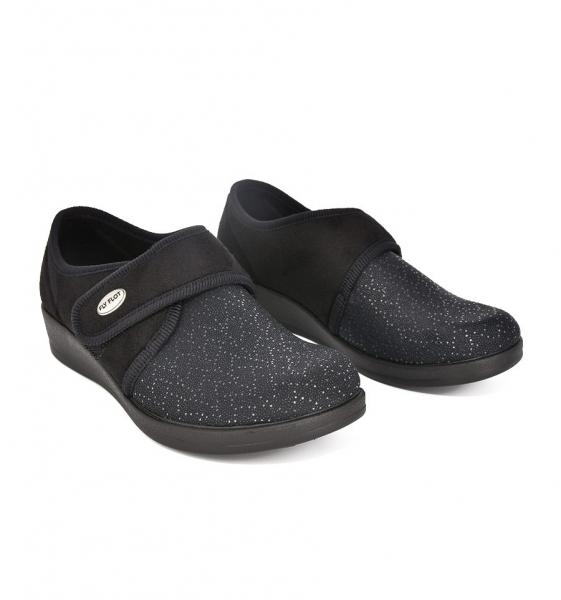 Papuci Textil Confort FLY FLOT 043 1