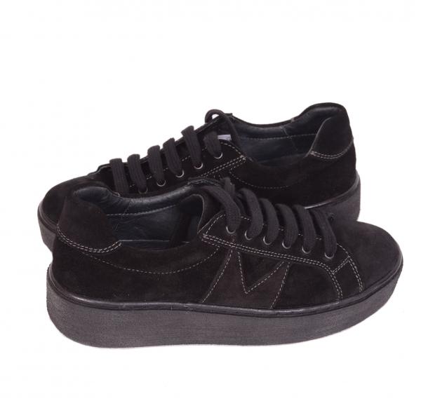 Pantofi casual dama 556 Negru 3