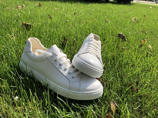 Pantofi Piele Naturala Veya 564 Alb 2