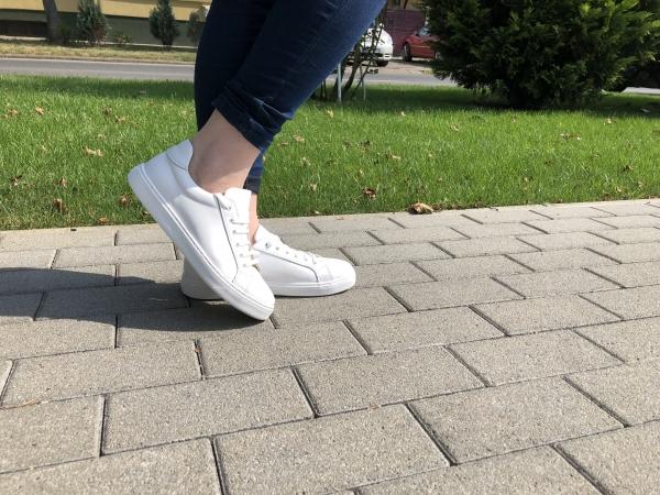 Pantofi Piele Naturala Veya 564 Alb 1
